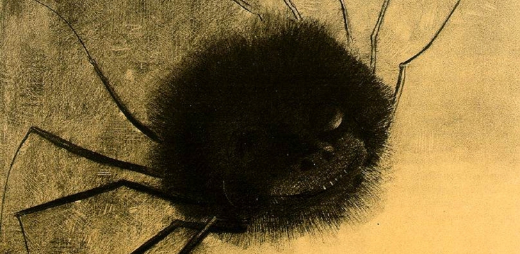 Odilon-Redon_The-Smiling-Spider_cropped
