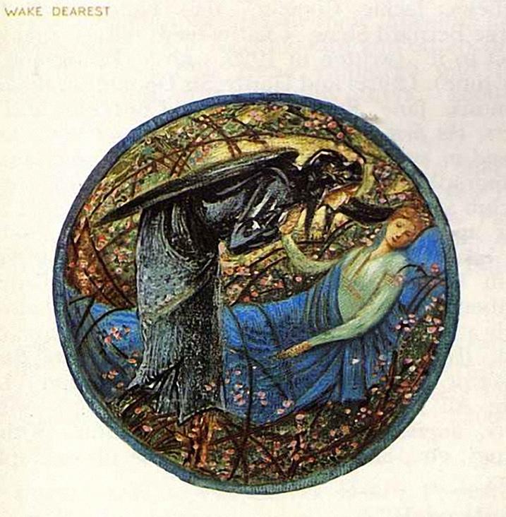 Edward-Burne-Jones-Wake-Dearest