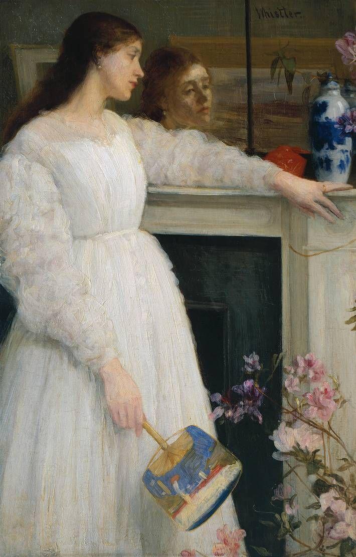 Whistler_James_Symphony_in_White_no_2_(The_Little_White_Girl)_1864